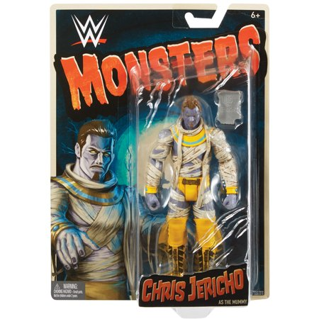 - Chris Jericho (Mummy) - WWE Monsters Toy Wrestling Action Figure