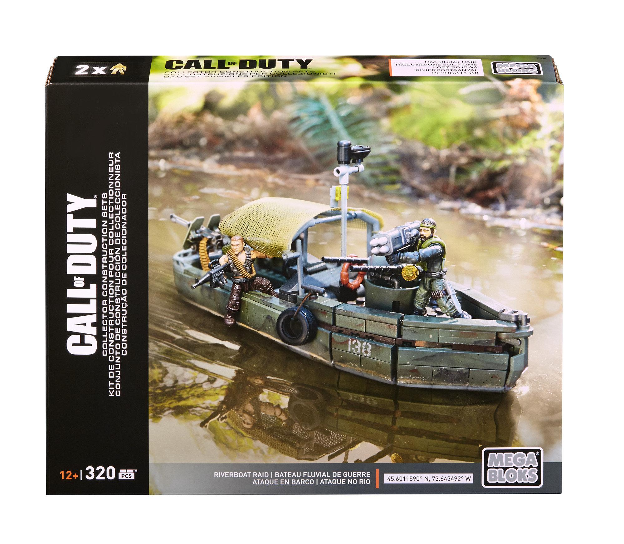 Mega Bloks Call of Duty Riverboat Raid Collector Construction Set by Mattel
