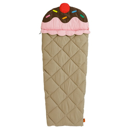 Ozark Trail Sprinkles The Cone Kids' Sleeping Bag](Girls Personalized Sleeping Bag)