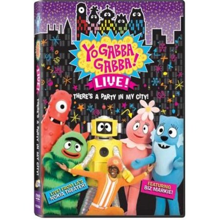 Yo Gabba Gabba   Live    Theres A Party In My City