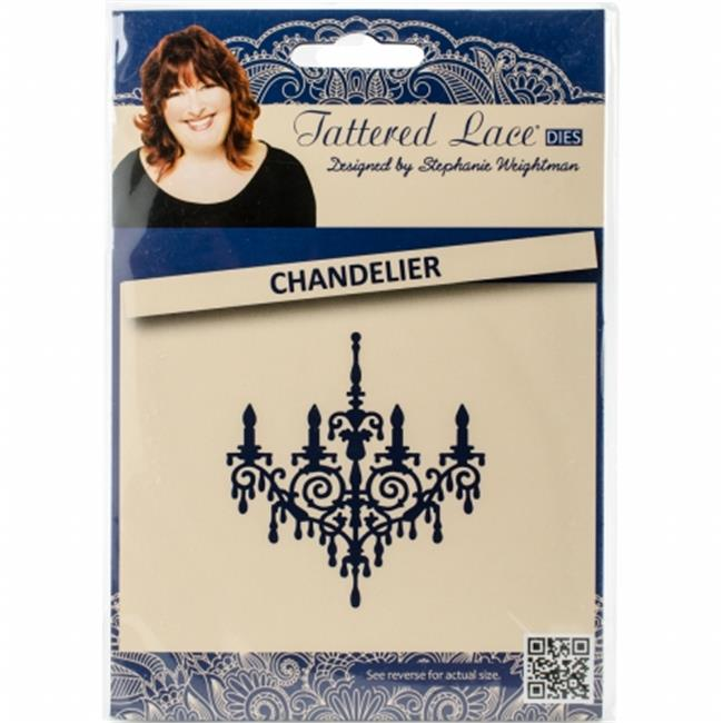 141508 Tattered Lace Metal Die, Chandelier