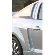 Xenon 12137 Quarter Window Scoop; Rear Left; Urethane;