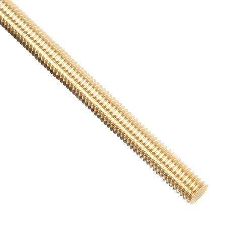M6 x 250mm Brass Fully Threaded Rod Right Hand Threads