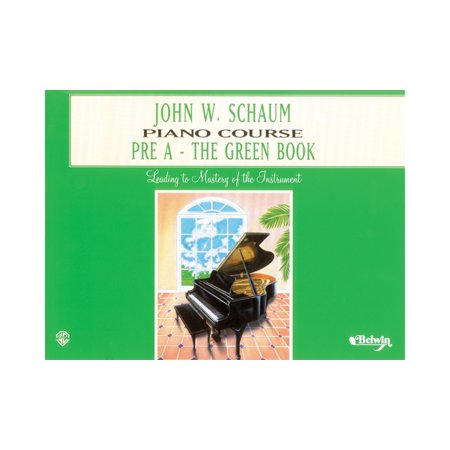 Image of Alfred John W. Schaum Piano Course Pre-A The Green Book Pre-A The Green Book