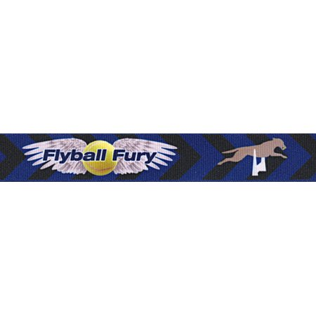 - Country Brook Design | 3/8 Inch Flyball Fury Grosgrain Ribbon Closeout, 5 Yards