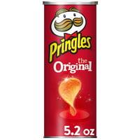 Pringles, Potato Crisps Chips, Original, 5.2 Oz