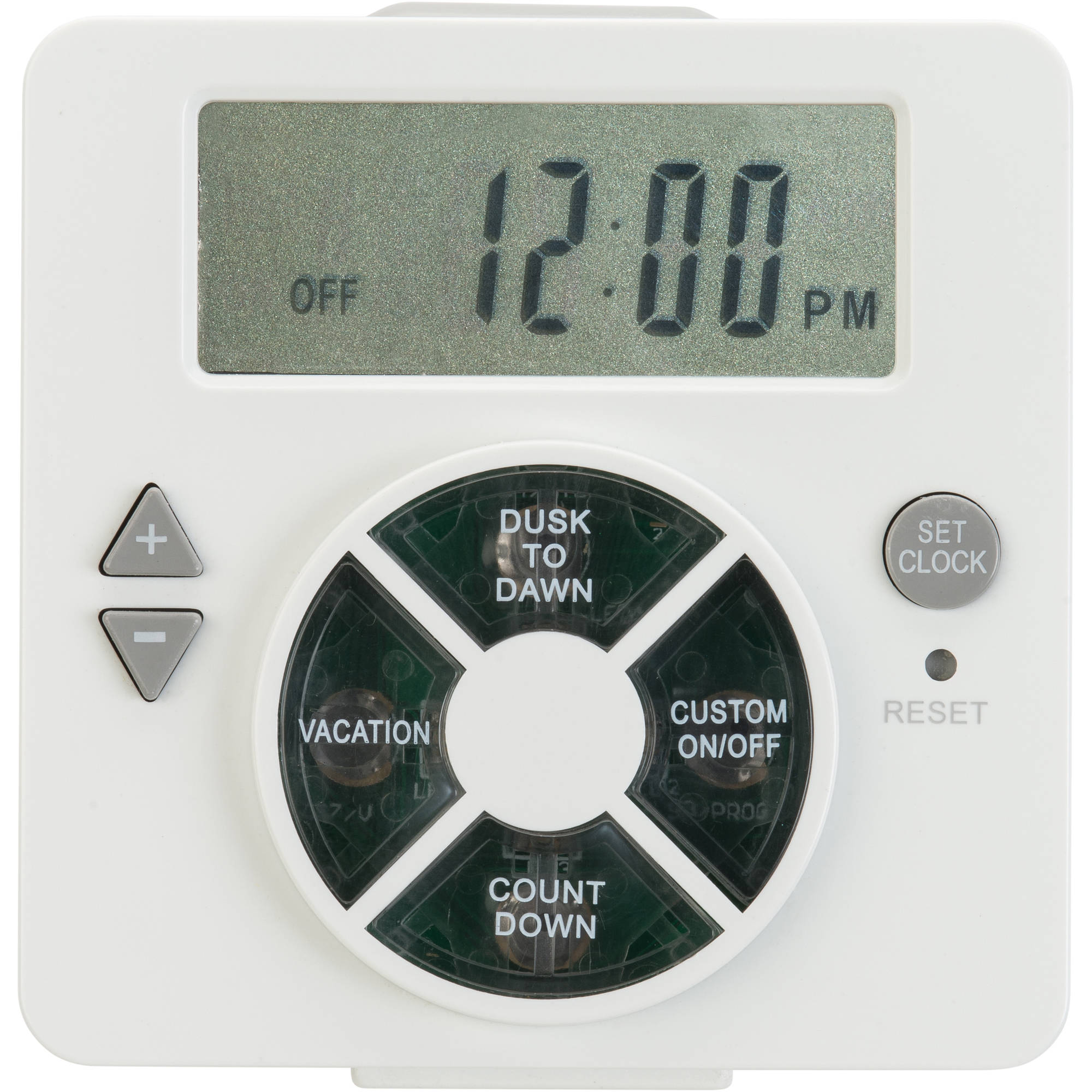 Work Choice Heavy Duty Indoor Daily Digital Grounded Timer With 1 On Off Outlet