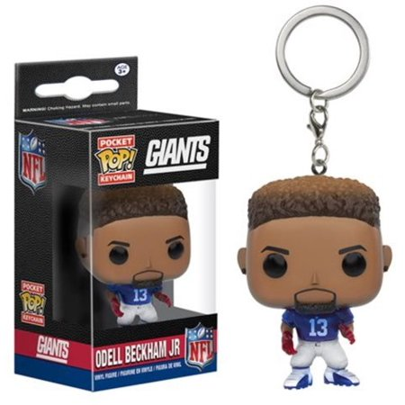 FUNKO POP! KEYCHAIN SPORTS  NFL - ODELL BECKHAM JR Walmart In-Stock  5.98 5b49731f2