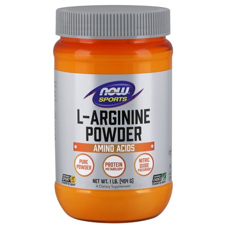 NOW Sports Nutrition, L-Arginine Powder, Amino Acids,