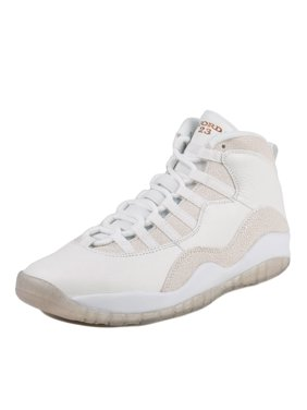 8b9ae015504 Product Image Nike Mens Air Jordan 10 Retro OVO Drake Summit White Metallic  Gold 819955-100