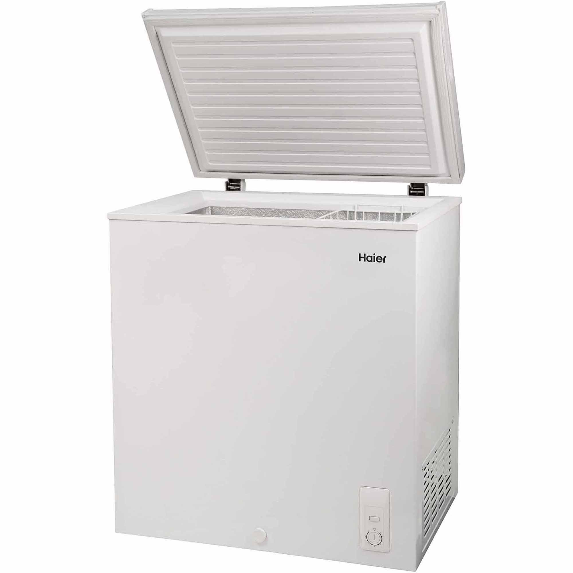 Haier 5.0 cu ft Capacity Chest Freezer, White, HF50CW20W - Walmart.com