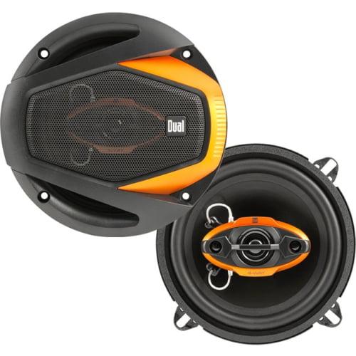 Dual Electronics DLS5240 Dual DLS5240 Speaker - 30 W RMS - 125 W PMPO - 4-way - 2 Pack - 75 Hz to 20 kHz - 4 Ohm - 85 dB Sensitivity - Automobile