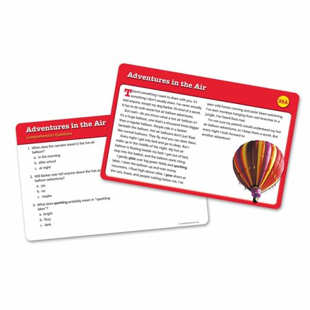 Learning Resources Reading Comprehension Card Set 2