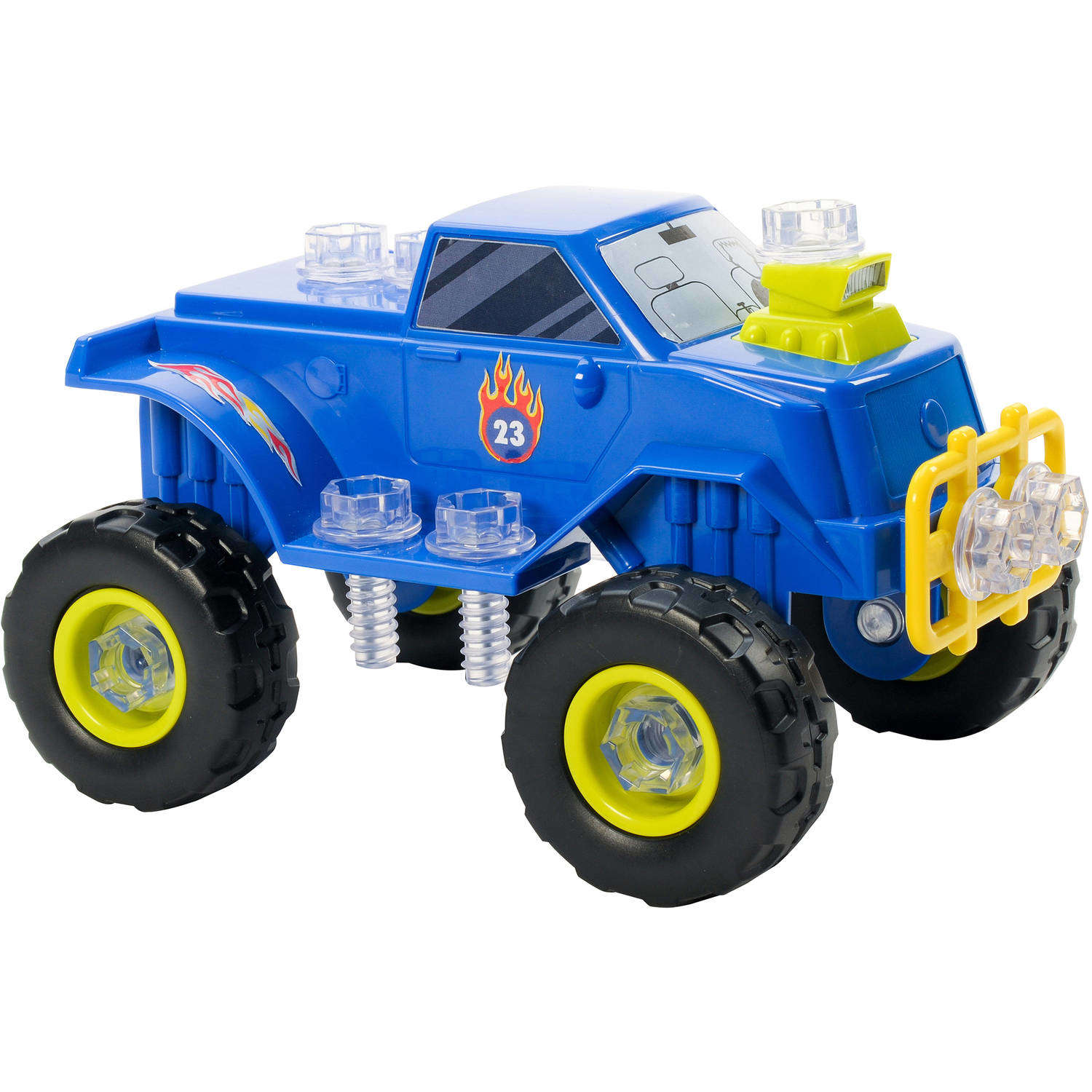 Educational Insights Design & Drill Power Play Vehicles Monster Truck by Generic