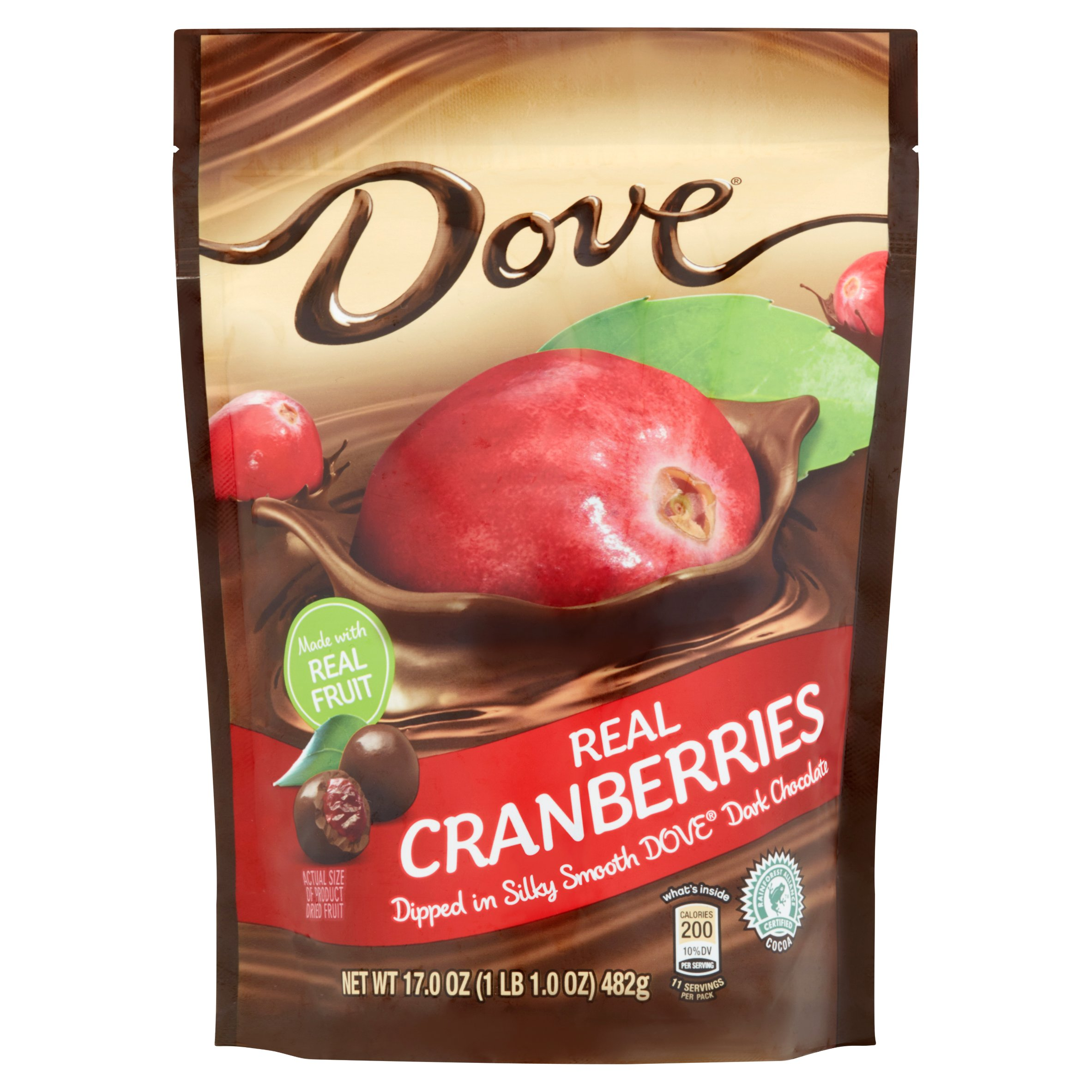 Dove Real Cranberries, 17.0 oz - Walmart.com