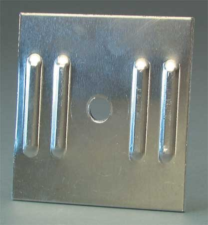 TAPCO 037-00107 Sign Backing, Use With U-Channel Posts