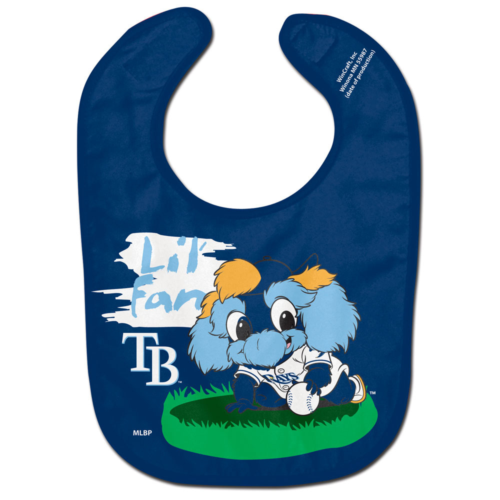 Tampa Bay Rays Lil' Fan All Pro Baby Bib