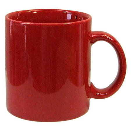 Fun Factory Mug in Red - Set of 4