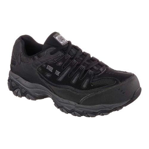 Men's Skechers Work Relaxed Fit Crankton Steel Toe Shoe by