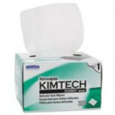 - Kimtech* KIMWIPES, Delicate Task Wipers, 4 2/5 x 8 2/5, 280/Box