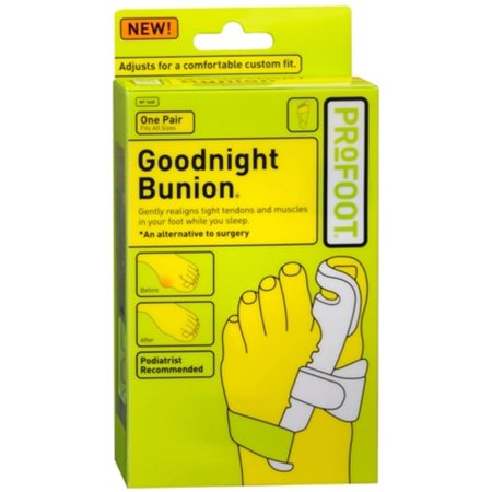 13d2590d5bb9 Goodnight Bunion Bunion Splint - Walmart.com