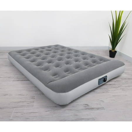 "Bestway 12"" Air Mattress with Built in AC Pump (Best Way To Build Muscle Mass For Men)"
