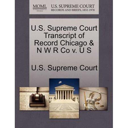 U S  Supreme Court Transcript Of Record Kansas City Southern R Co V  Leinen