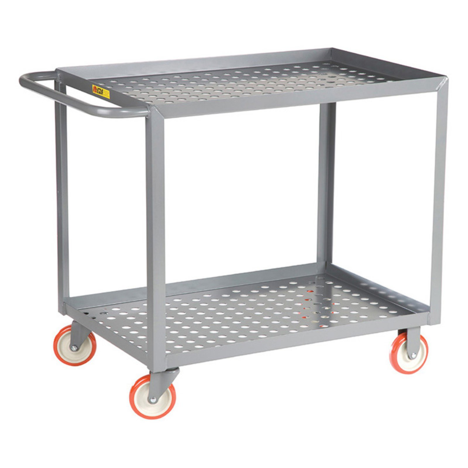 Little Giant Welded Service Cart with Perforated Deck