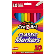Cra-Z-Art Classic Fineline Markers, 10 Count