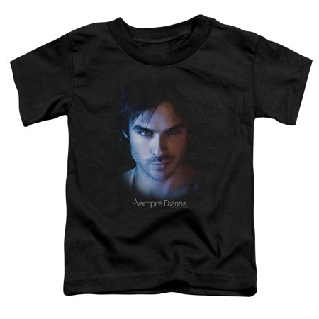 3329e35c4207b Vampire Diaries - Vampire Diaries Damon Little Boys Toddler Shirt -  Walmart.com