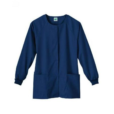 014 Fundamentals - Fundamentals, Ladies, Jacket, Warm-Up NAVY 4X