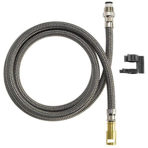 Delta Replacement Hose Assembly with Mounting Clip by Delta