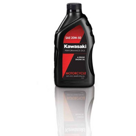 Kawasaki 4-Stroke Motorcycle Engine Oil 20W50 1 Quart K61021-201A