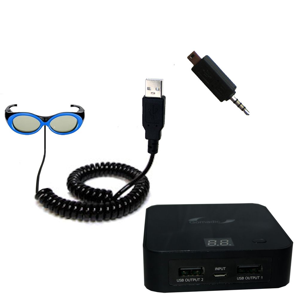 Samsung SSG-2200KR 3D Active Glasses for Kids for TV