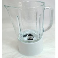 Blender Glass White Jar Assembly for KitchenAid, AP4507808, PS2377612, W10279528