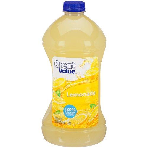 Great Value Lemonade, 96 fl oz