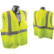 Radians Rad Wear ANSI Class 2 Hi Vis Green Safety Vest XL SV2GMXL