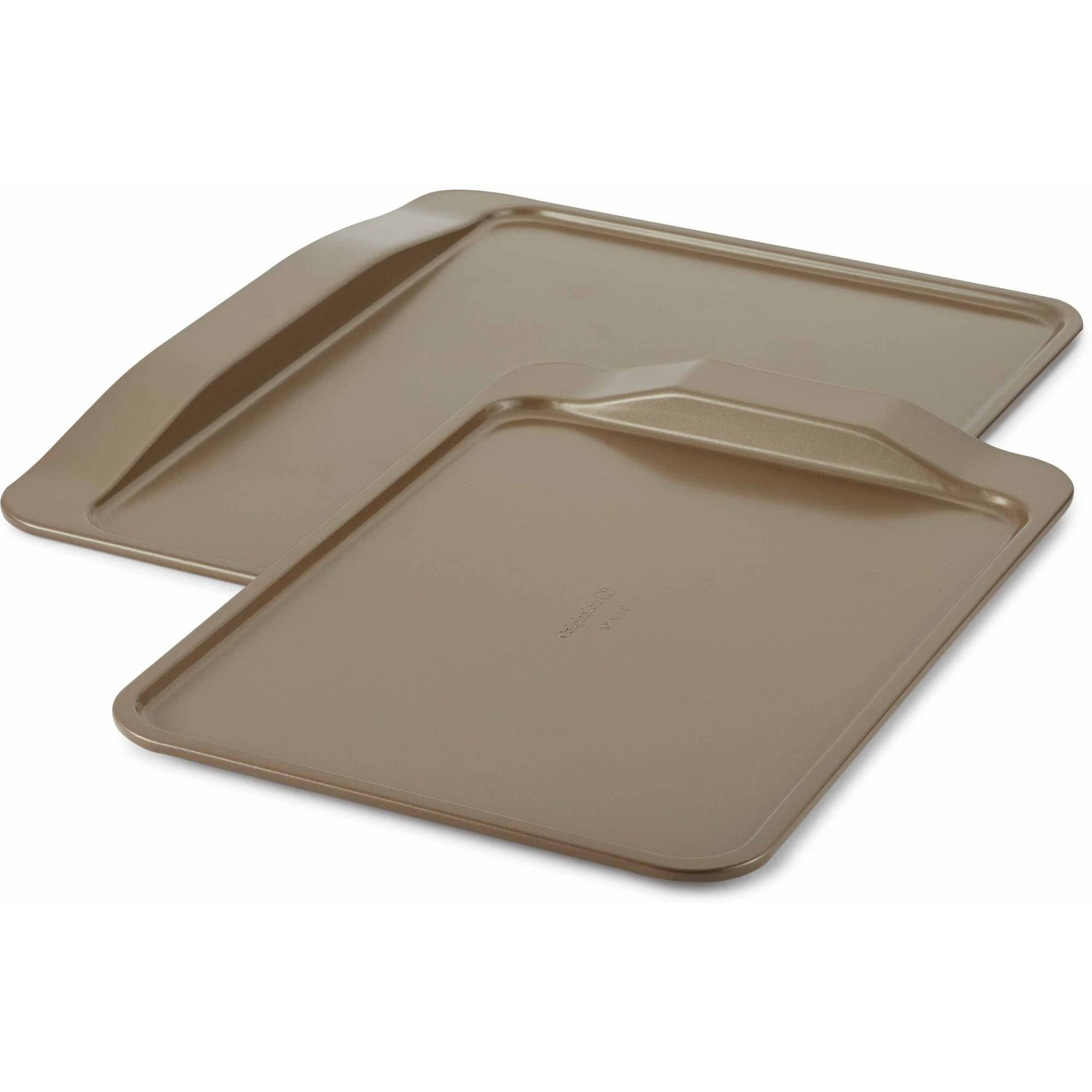 Cooking with Calphalon Nonstick Bakeware 2 Piece Cookie Sheet Set