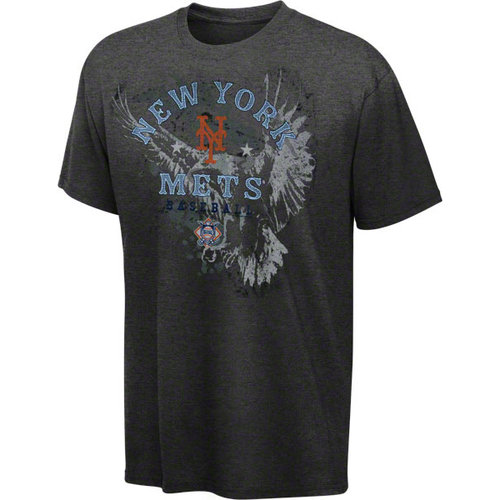 MLB - New York Mets Charcoal Ready 2 Win T-Shirt