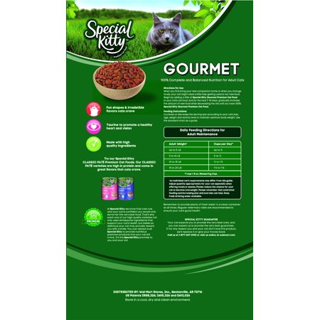 Special Kitty Gourmet Cat Food Ingredients