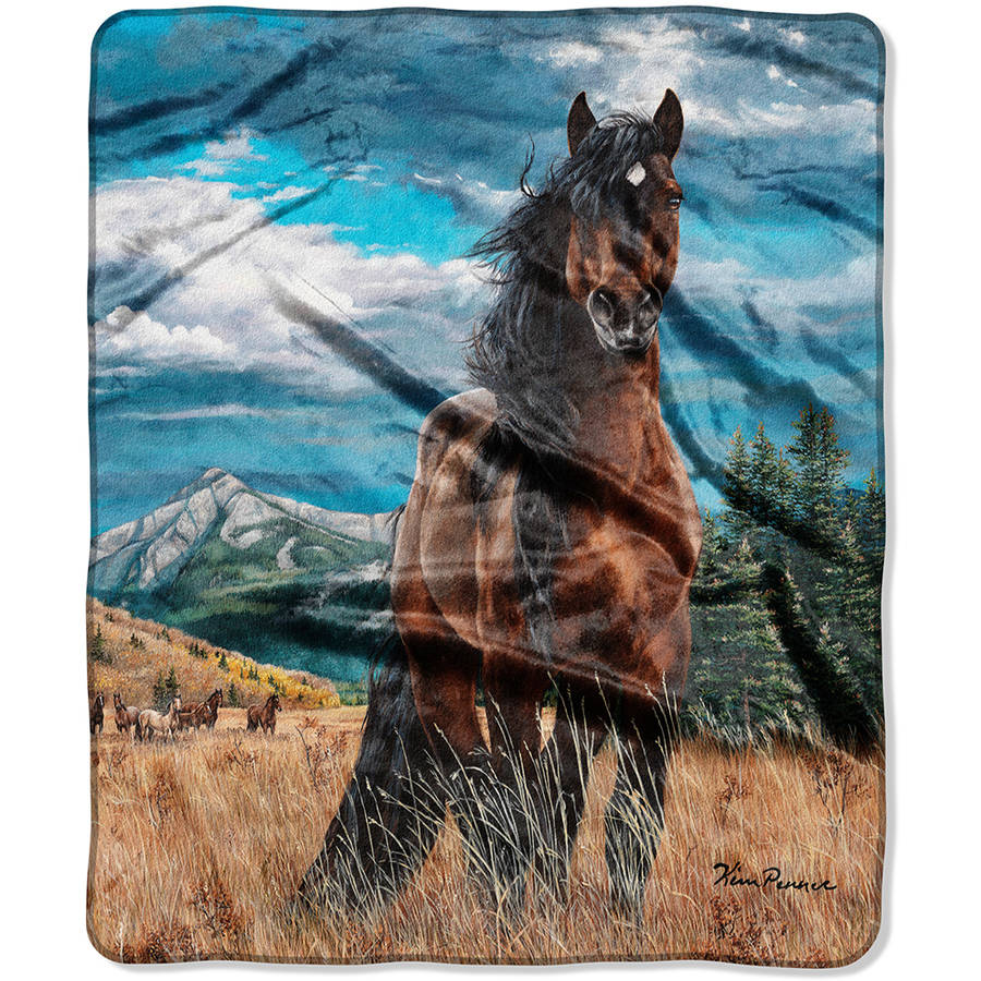"The Northwest Company American Heritage Royal Plush 50"" x 60"" Freedom Raschel Throw Blanket, 1 Each"