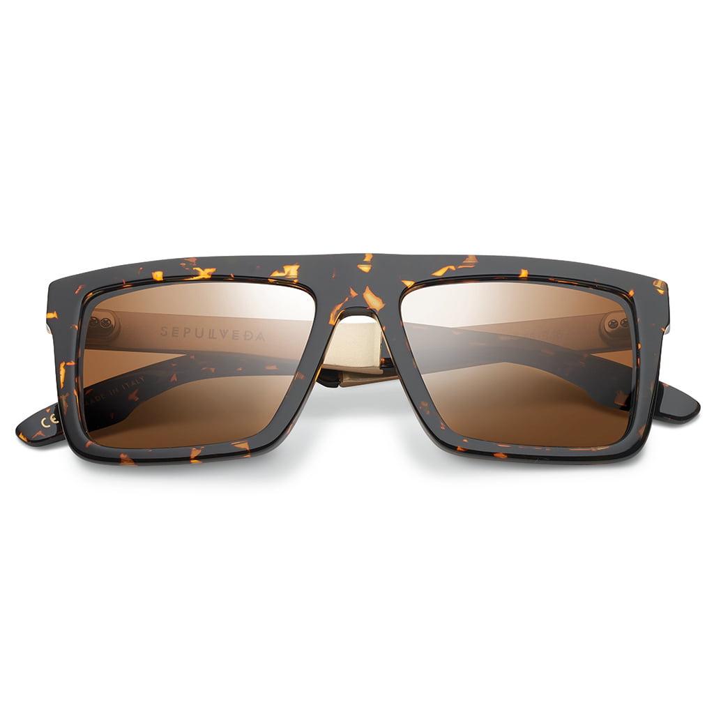 58961040e4f IVI Eyewear - IVI Eyewear Sepulveda Polarized Rectangular 55 mm Sunglasses  - Walmart.com