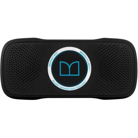 monster superstar backfloat portable wireless bluetooth speaker with