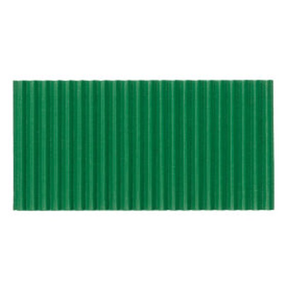 Corobuff Corrugated Paper Roll, 48-inch x 25-foot, Apple Green