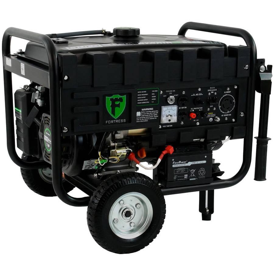 DuroStar Dual Fuel 4,400W Hybrid Propane Gasoline Generator by Generic