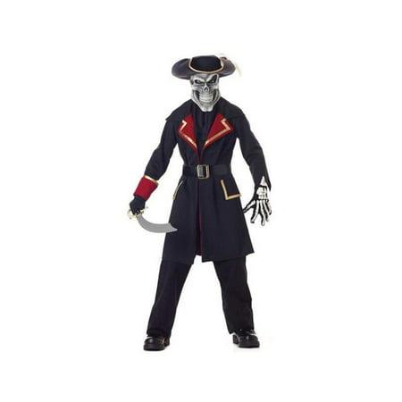 Child's Captain Scurvy Skull Pirate Costume for $<!---->