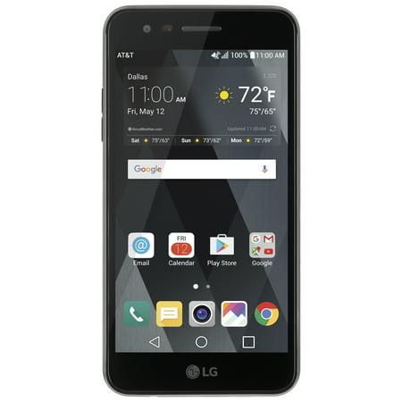 (AT&T PREPAID LG Phoenix 3 16GB Prepaid Smartphone, Black)