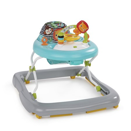 Bright Starts Zig Zag Zebra Walker with Activity (Bright Starts Bounce Bounce Baby Activity Station)