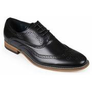 Daxx Mens Oxford Faux Leather Dress Shoe