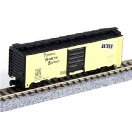 Thb Toronto Hamilton Buffalo Box N Scale Train Car, Assembly required By Model (Hamilton Model Kit)